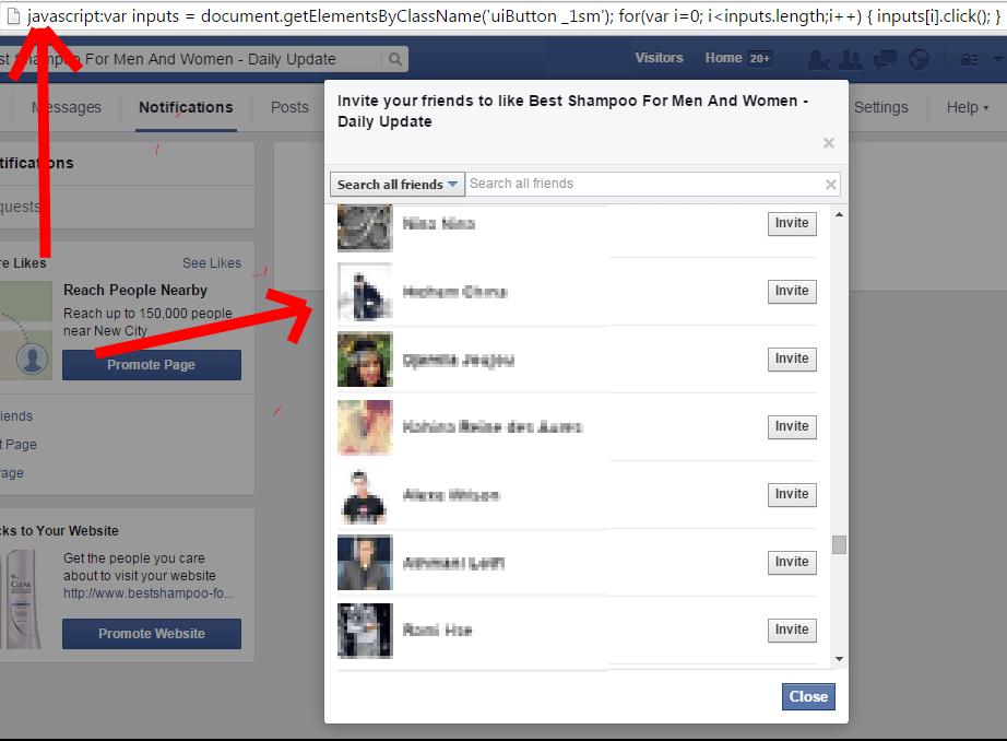 facebook tricks page