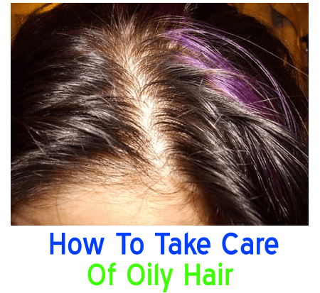 oily hair care