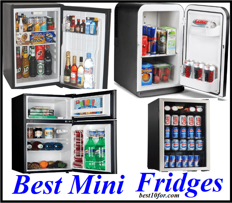 When you move into your college dorm or office, it's nice to have a mini fridge to keep drinks and snacks cold. These are the best mini fridges in all sizes from cubic feet to cubic feet.