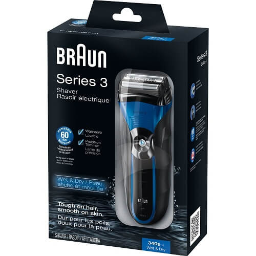 Braun Series 3-340s.