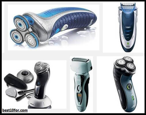 top brands of electric shavers