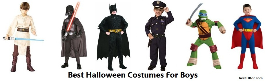 best halloween costumes for boys
