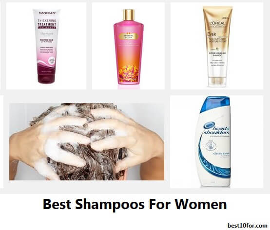 best shampoo for women 2016