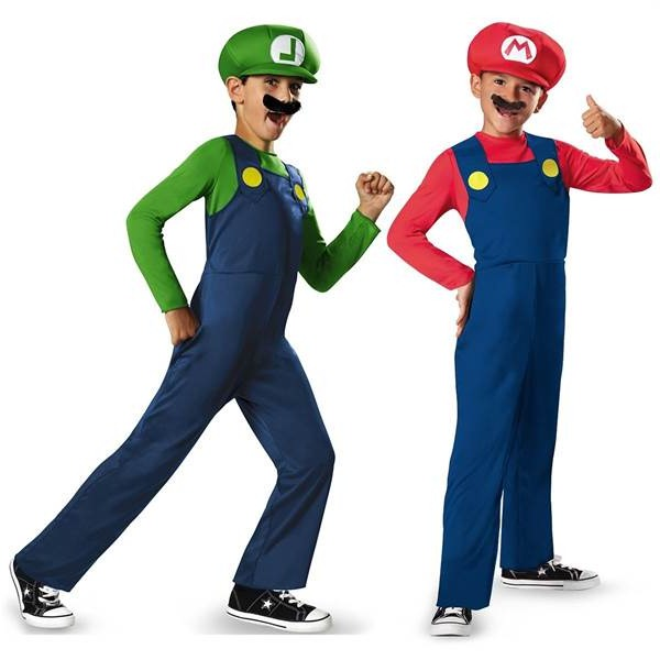 mario_and_luigi_halloween costum