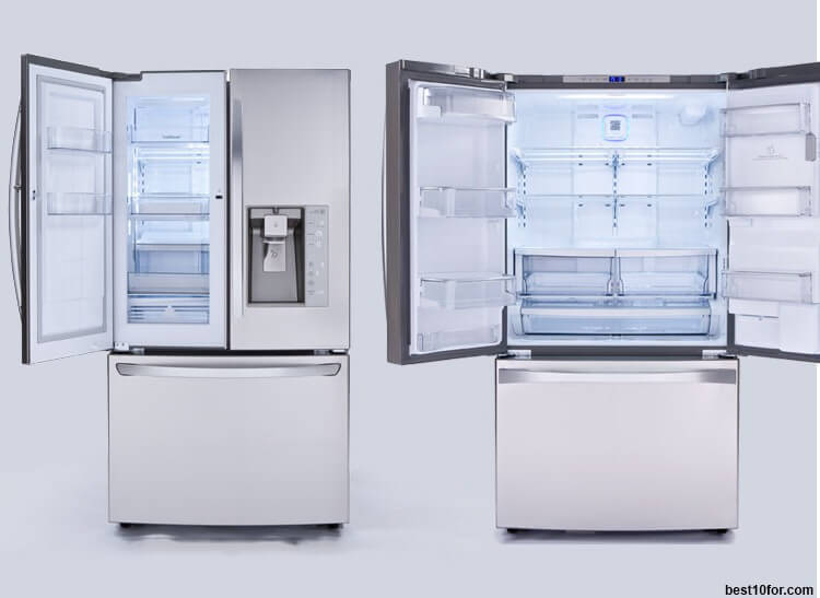 10 Best Refrigerators 2018 Frensh Door Vs Top Freezer Top