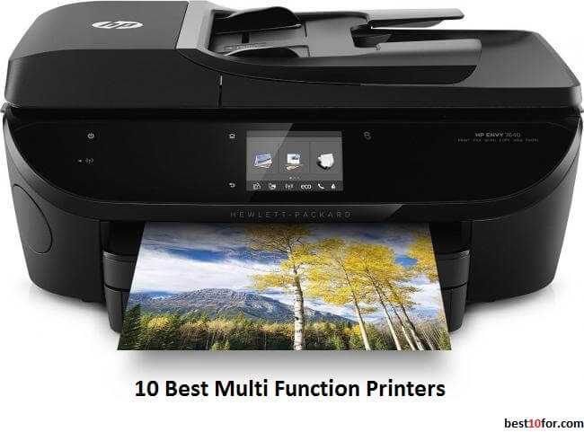 10 best multi function printers 2018 top rated 2019 list for Best home office multifunction printers