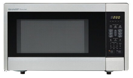 Best Microwave Ovens Defrosting heating -Review 2016 Sharp Stainless Steel Countertop Microwave Oven ZR331ZS 1.1 cu. ft. 1000W