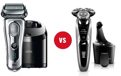 Braun series 9 vs norelco shaver