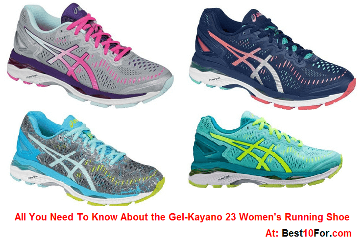 Kayano 23 ASICS Gel Women's running shoe 2016 2017