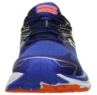 Saucony Ride 9 front running shoes