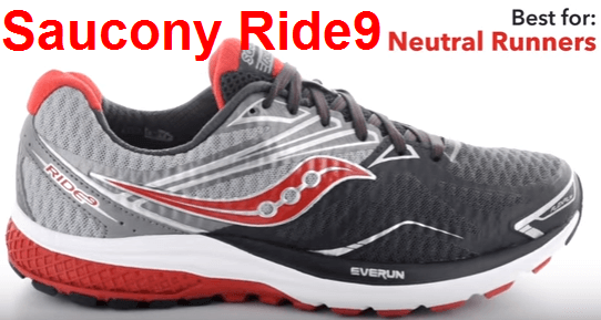 Saucony Ride 9 shoes review