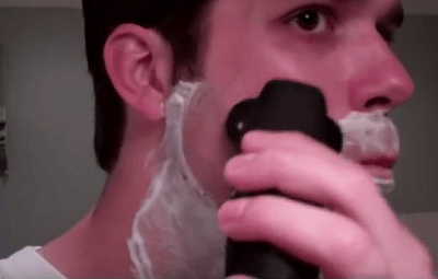 how to use braun series 7 to shave beard