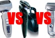 Braun Series 7 vs Panasonic ES-LA63 vs Norelco SensoTouch 3D 2017 2018 2019 2019 comparison