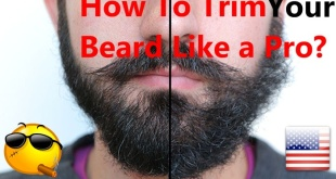 how to trim your beard like a pro barber