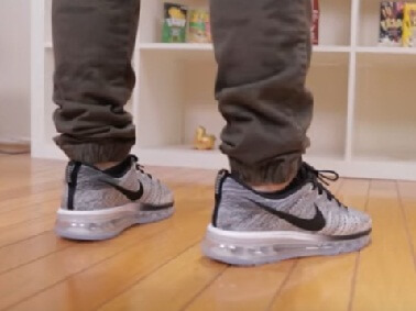 Nike Airmax Flyknit Shoes with jogger pants 2017 2018 2019