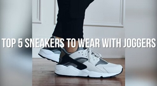 best shoes to wear with joggers 2017 2018 2019