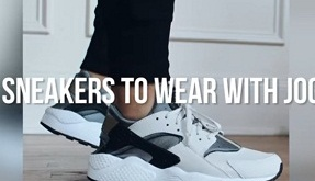 best sneakers to wear with joggers 2017 2018 2019