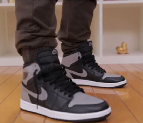 jordan shadow 1's Shoes with jogger pants 2017 2018 2019