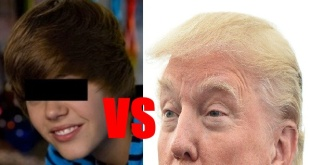 the trump vs the bieber WORST Men's Haircuts