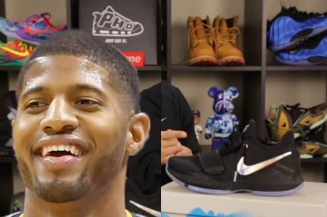 nike Paul George Basketball shoe 2017 2018
