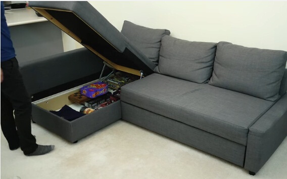 sofa bed with storage 2017 2018 2019