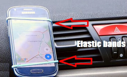 Simple Car Phone Holder Hack