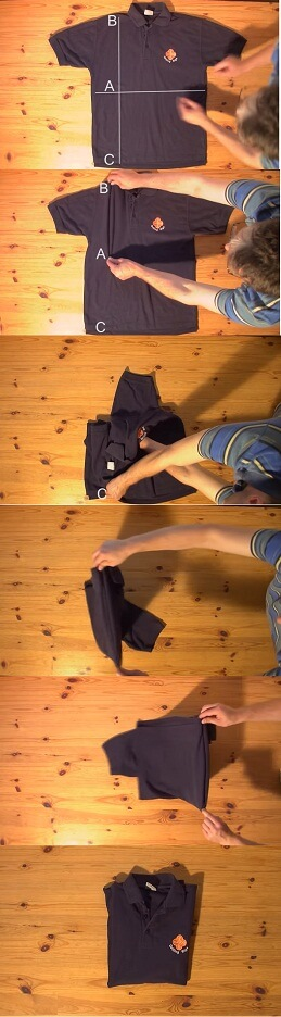 Best Way to Fold a Shirt in Under 2 Seconds 2017 2018 2019