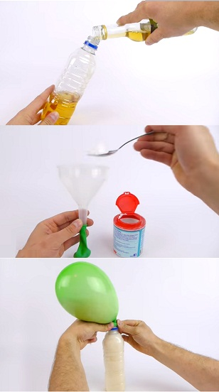 Fun Things To Do With Balloons white vinegar and balloons