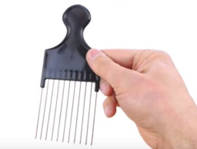 best onion cutting tool hair pick