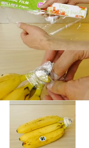 easy way to stop bananas from browning and keep them fresh for a long time
