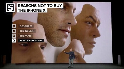 Face ID and touch ID iphone X 2018 2017