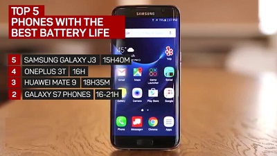 Galaxy S 7 long battery life Phone 2018 2017