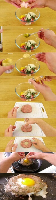 How To Make A Burger By Your Self at home