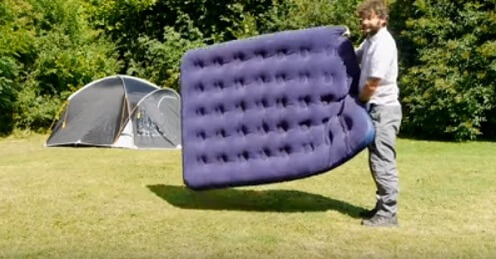 How To blow up your Airbed without a pump easily