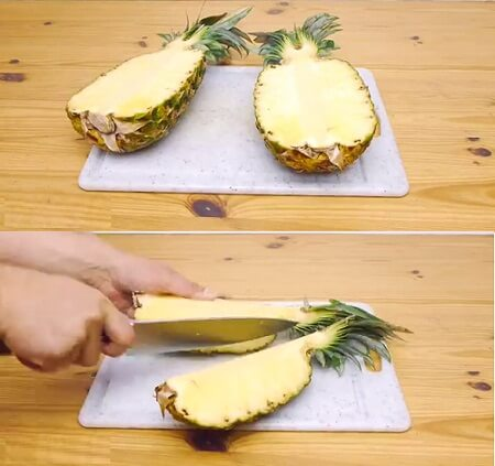 best way to cut pineapple 2018 2019 2020