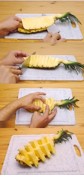 how to serve pineapples for parties and special occasions