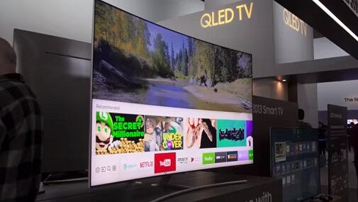 samsung OLED 4k TV 2018 2017 2019