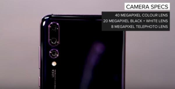 Huawei P20 Zoom 3 Camera Upgrades 2018 phone