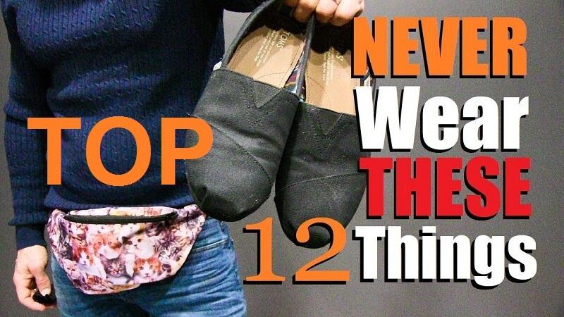 things you should not wear