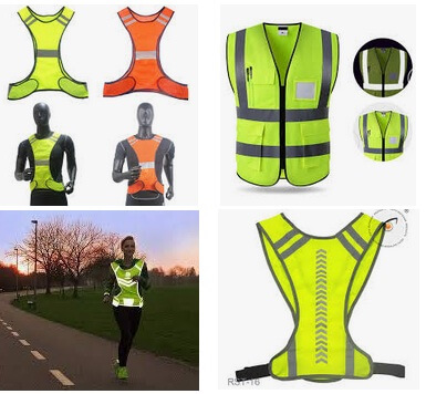 lightweight Reflective Vests for running