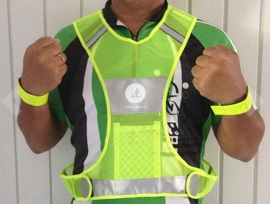 road runner Reflective Running Vest